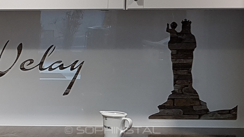 Crédence de cuisine décorative le Puy en Velay