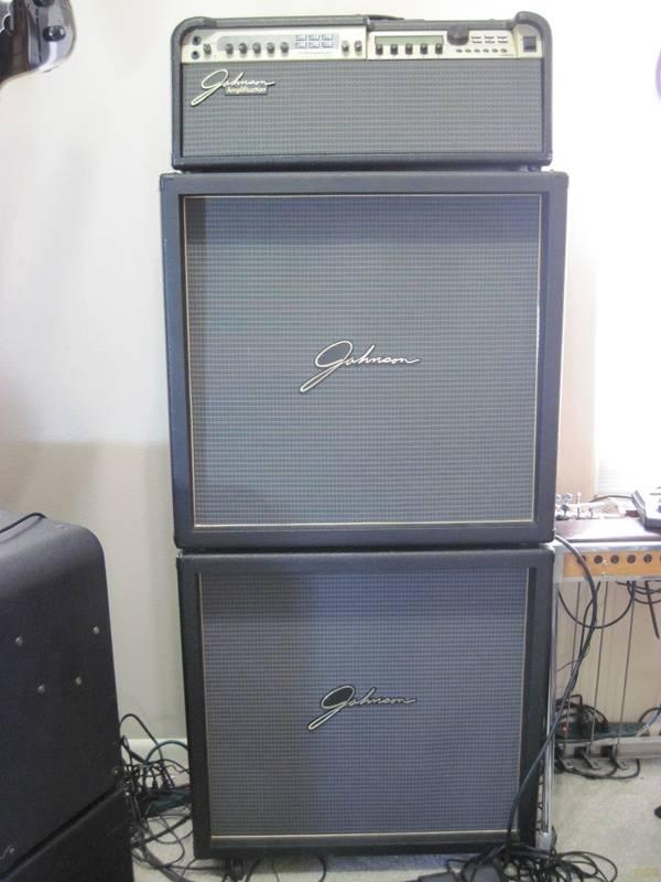 Johnson Millennium JM250 Full Stack With J412V Stereo Cabinets