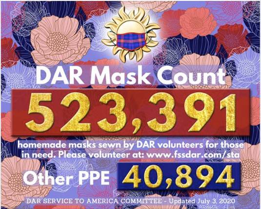 July 3rd Mask Count - 523,391
