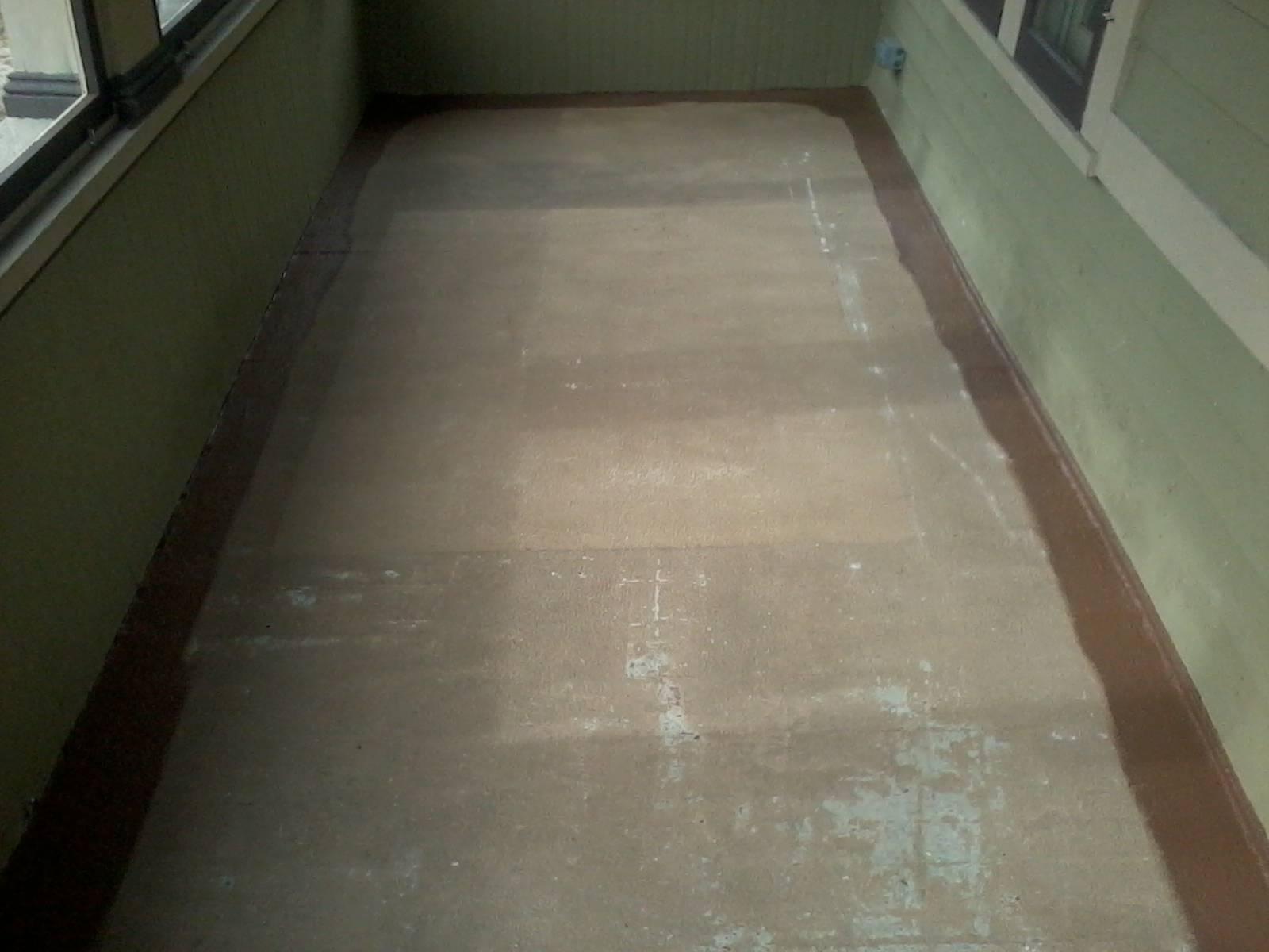 porch floor