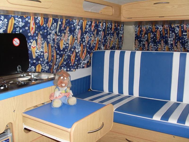 SJS VW T2 FAT BOY Interior