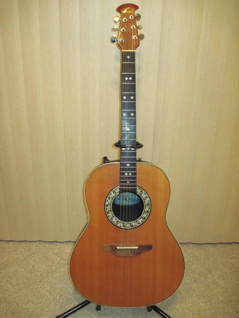 1982 Ovation 1612 Balladeer Acoustic / Electric