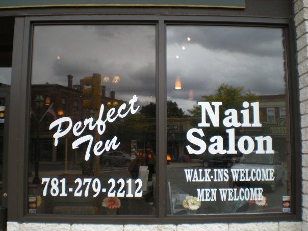 Perfect Ten Nail Salon, 7 Central Street, Stoneham, MA, 02180