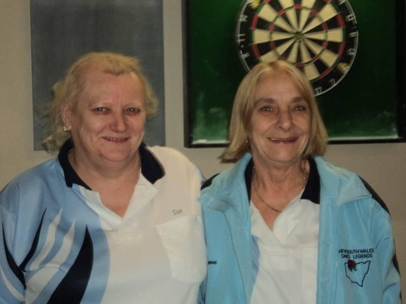 B Grade Ladies Doubles Winners - Dot Riley & Gwen Conners