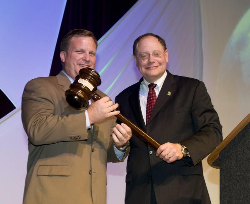 Mayor Moe and Mayor Sidney Katz