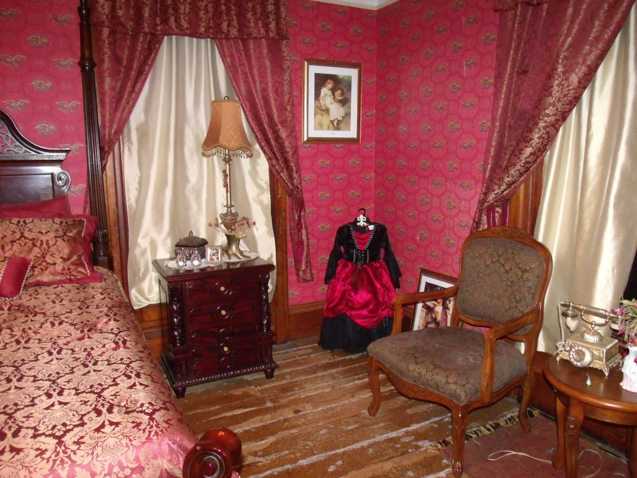 Red Room - SK Pierce Mansion