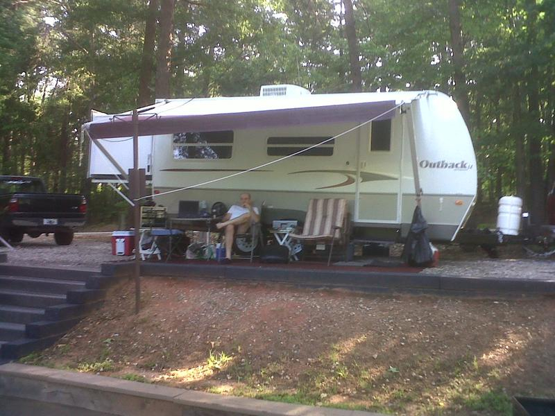 N4IQ's RV trailer station