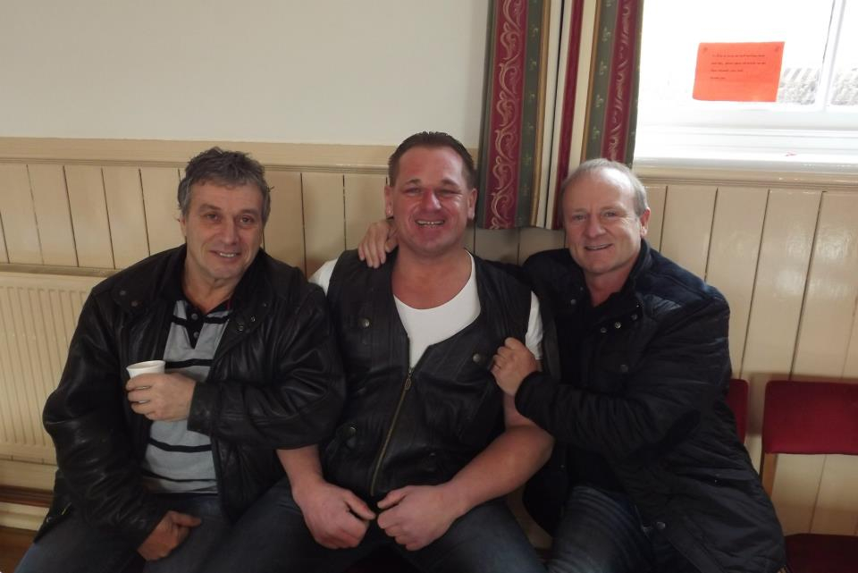 Steve Grey, Darran Ward, Mal Sanders