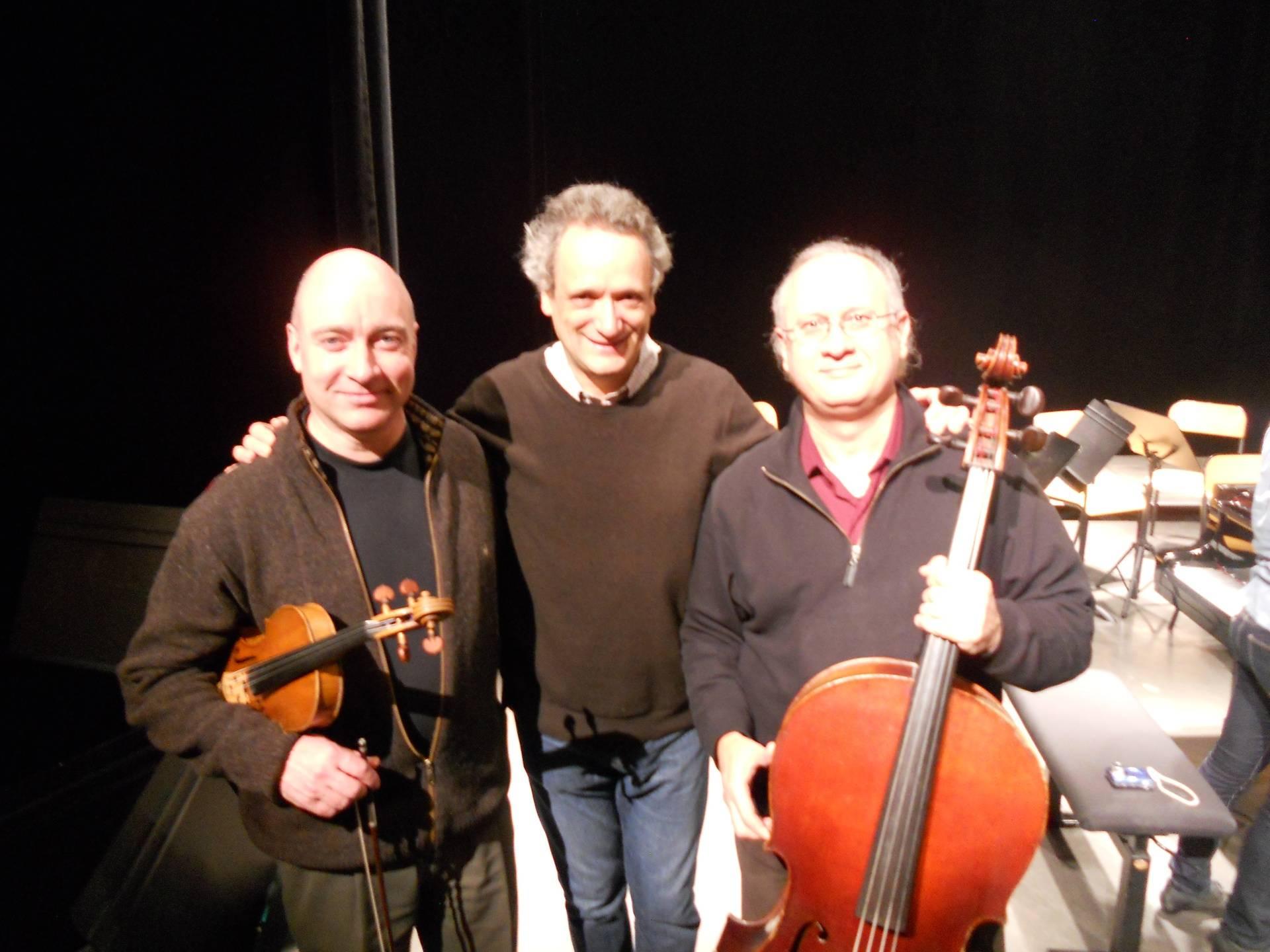 In Paris with Maestro Louis Langree and Mihai Tetel