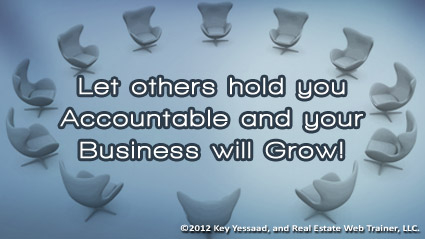 Accountability in Real Estate leads to Success