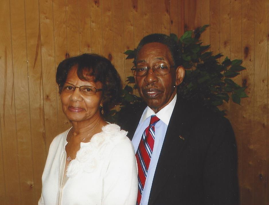 Deacon Curtis and Barbara Gaye
