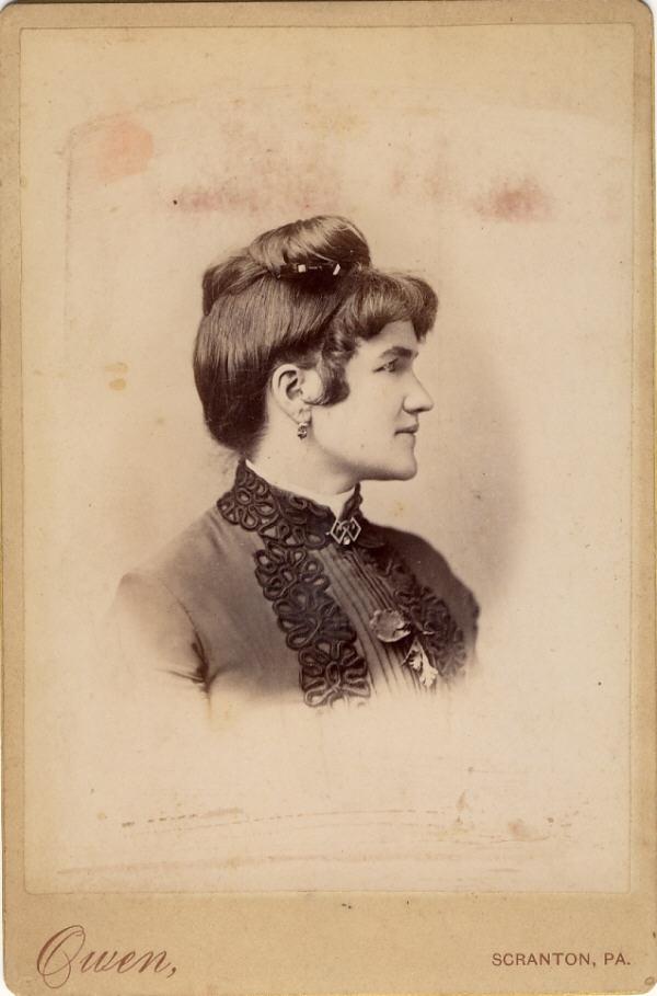 W. H. Owen, photographer, of Scranton, PA