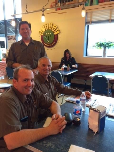 The UPS Crew! Joe, John & Lee