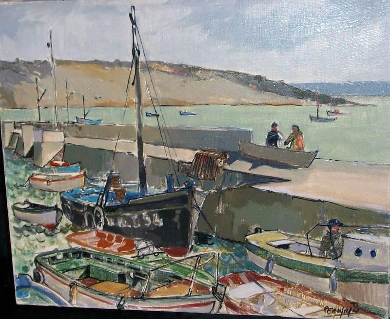 Plougastel le port (Collection privée)