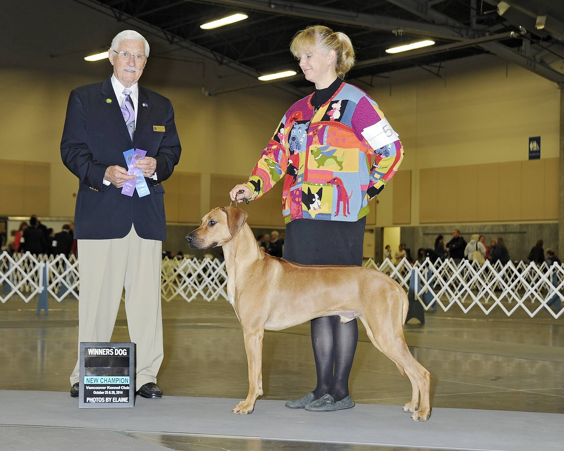 Am/Cdn Ch  BPIS  BPISS  Thornberry A Storm is Brewing--14 months old   Luna X Arusha