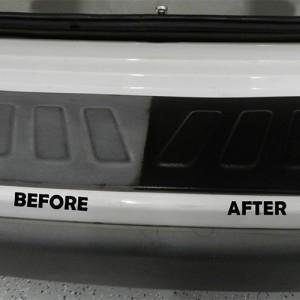Trim Restoration: Before & After