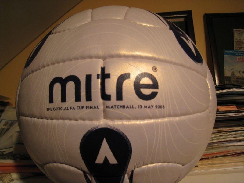 2006 FA Cup Final match Ball