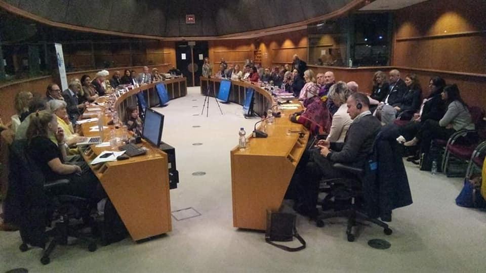 Día de Ayurveda. Parlamento Europeo. Bruselas Nov 2018