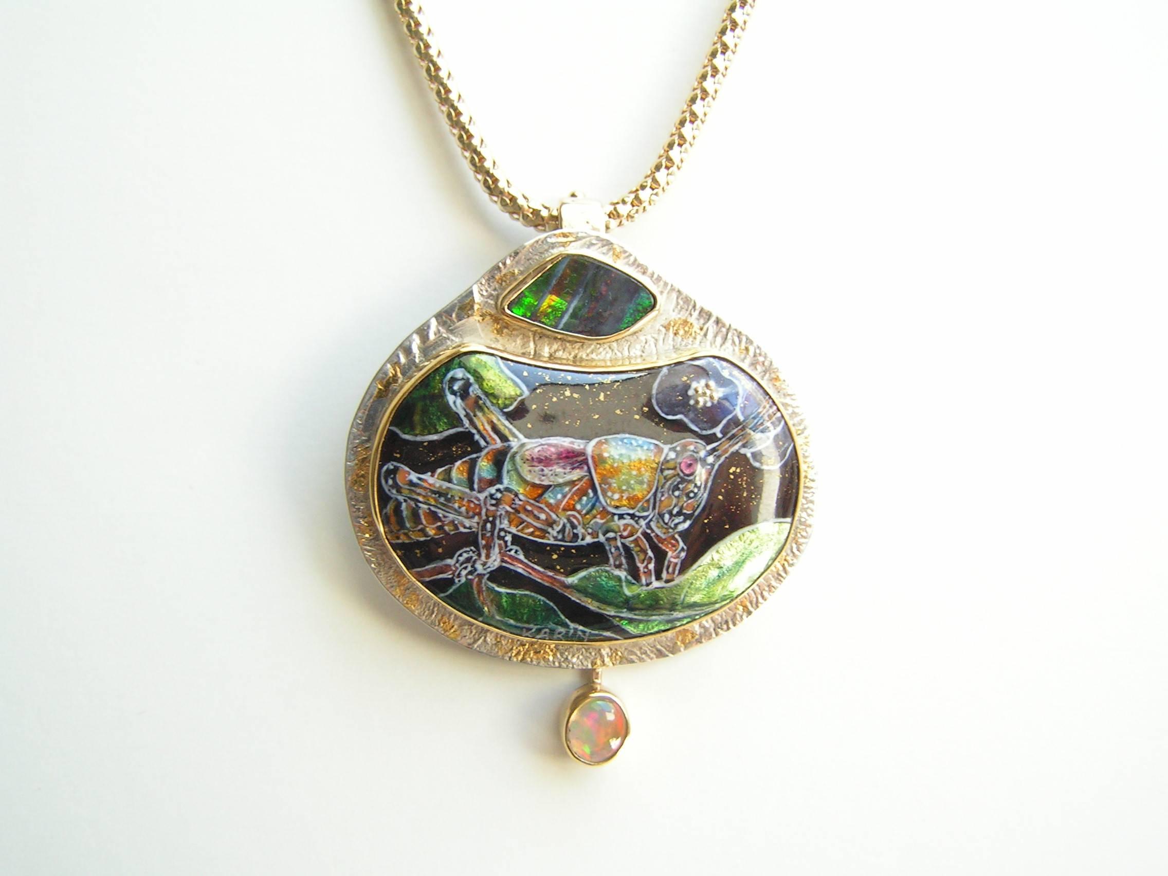 Elegant Grasshopper- SOLD