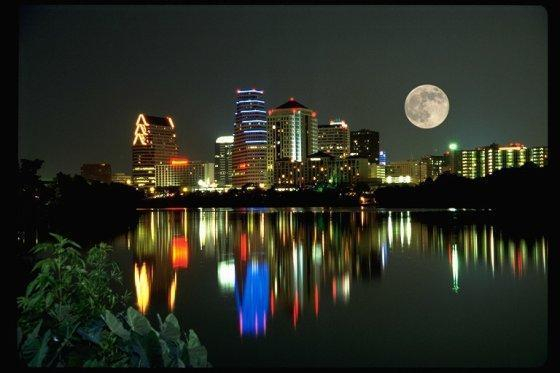 Austin, Texas Sky Line @ Night