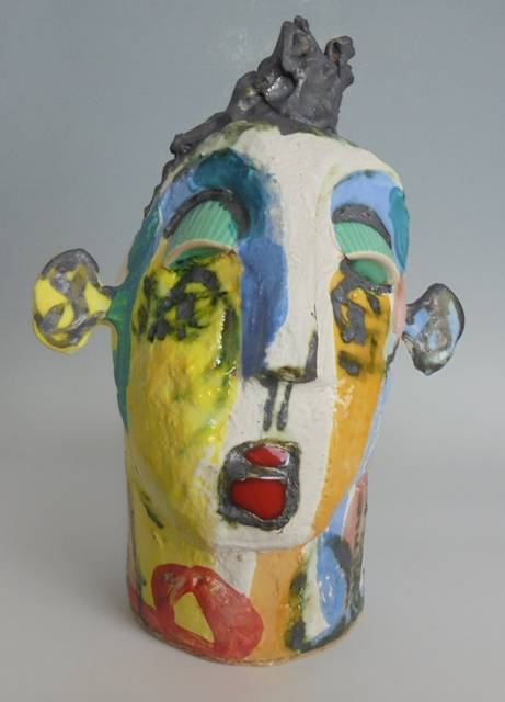 Mary Jones Ceramics.  No nonsense. SOLD