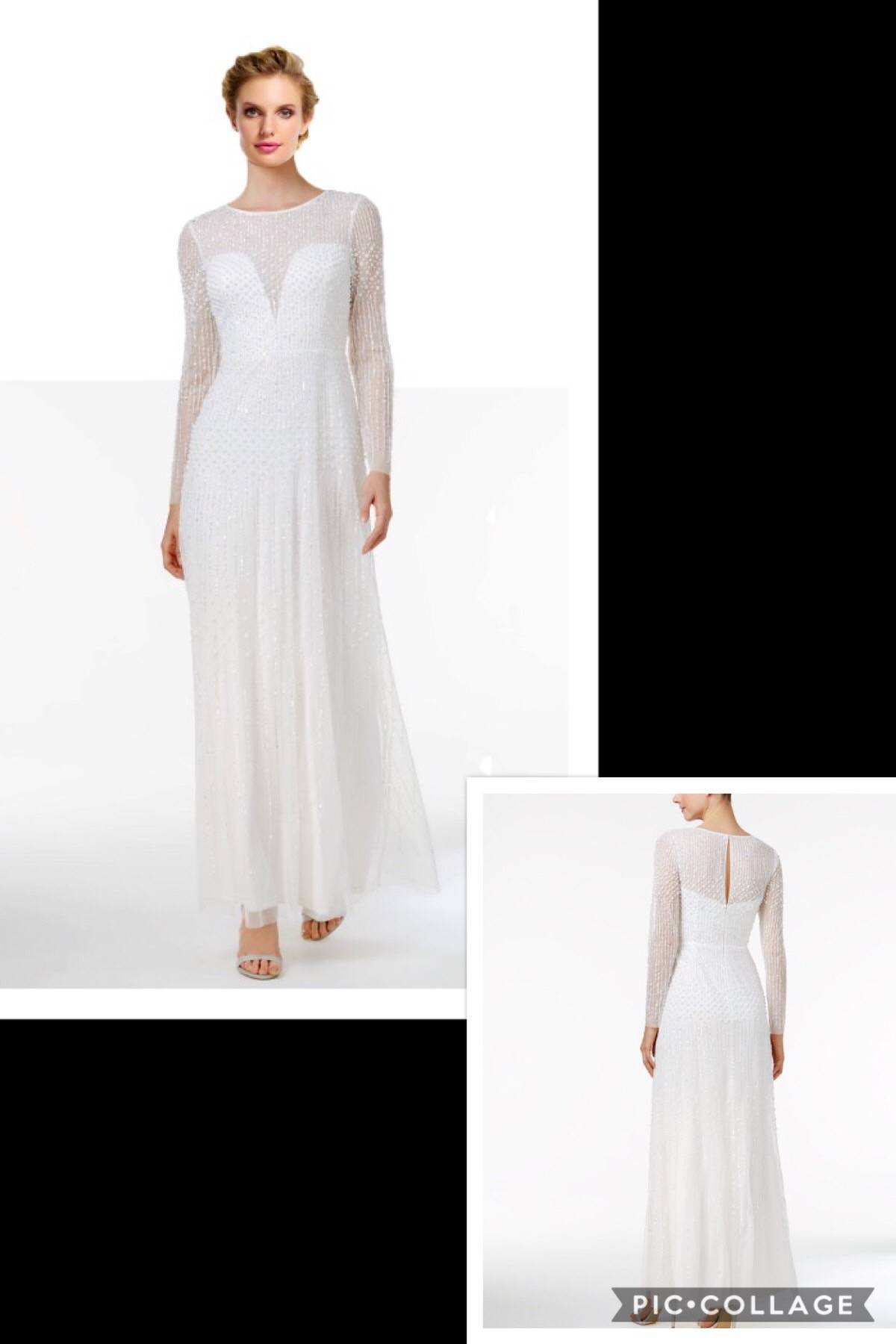 NEW WITH TAGS ADRIANNA PAPELL BRIDAL GOWN SIZE 16 $175.00