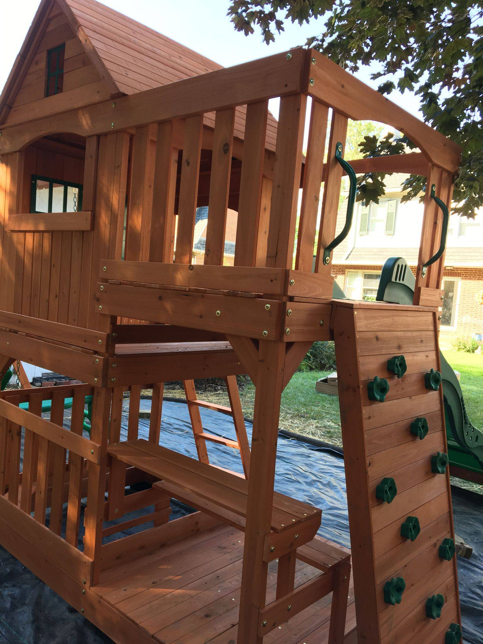 backyard discovery Pacific View swing set assembly in Frederick maryland