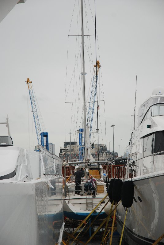 Guardian Spirit on board the ship