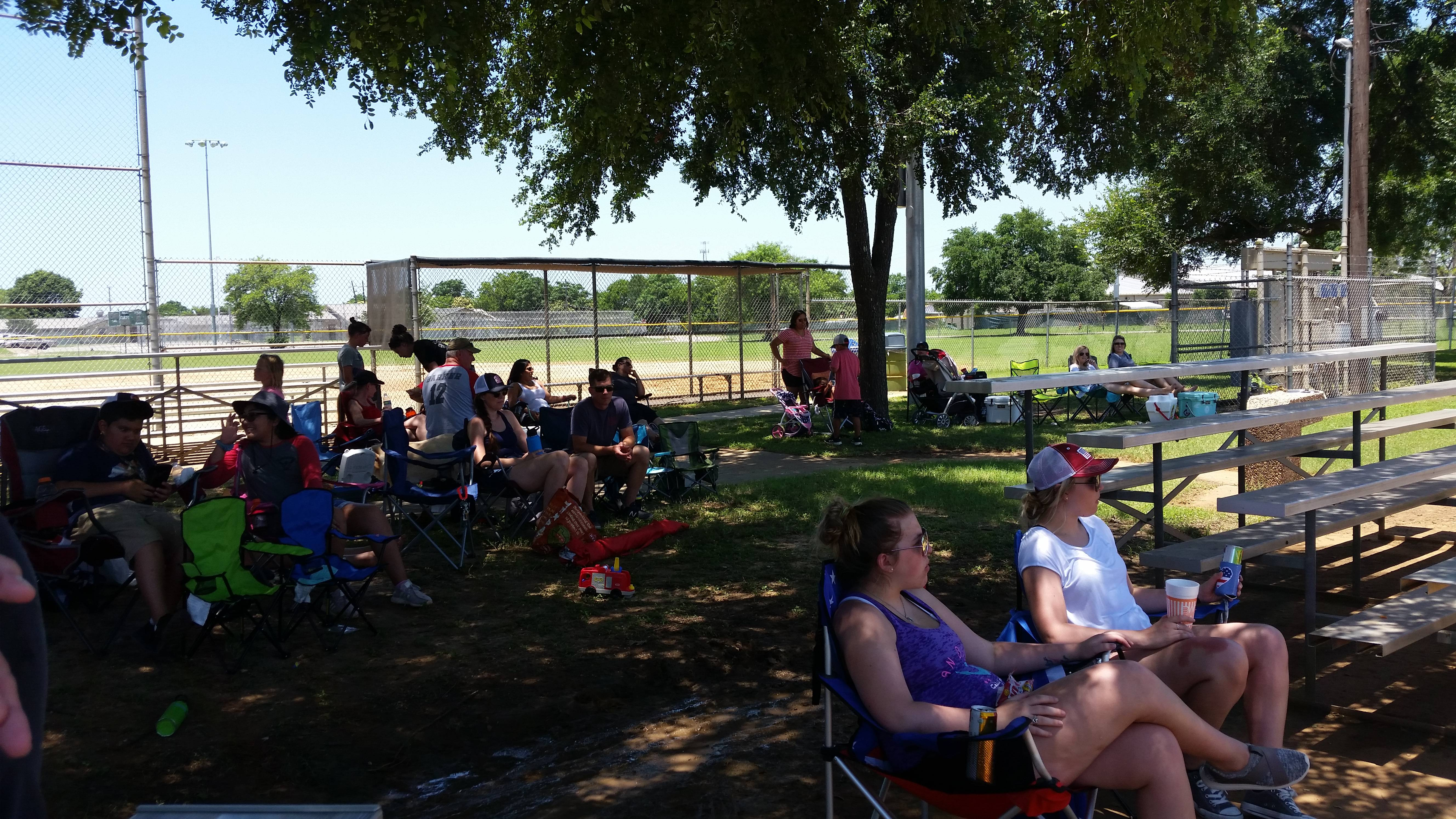Families & Friends come out to support their teams