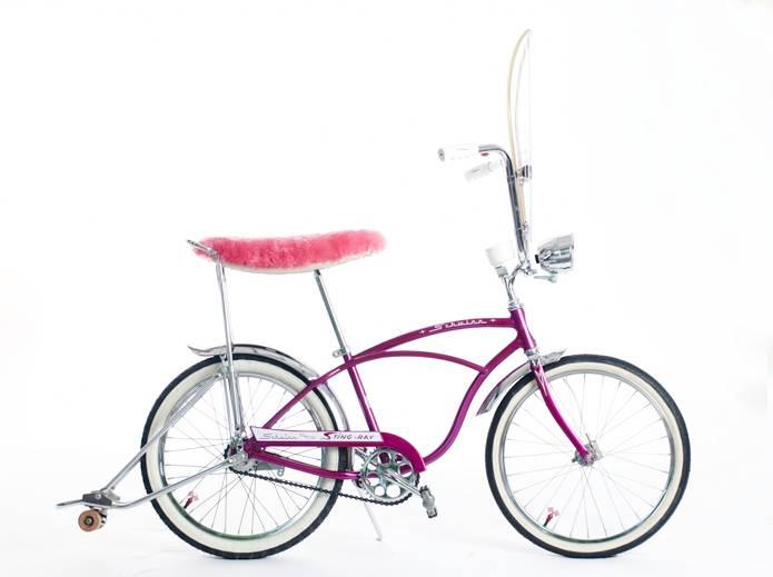 1964 Violet Schwinn Deluxe Stingray