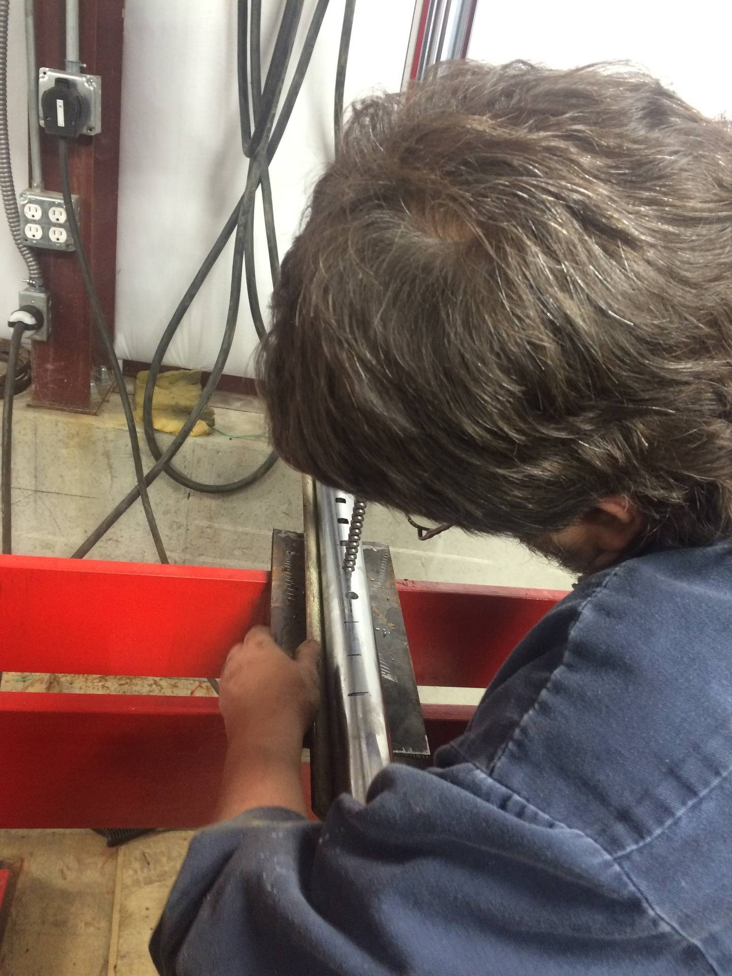 Broaching Square Holes in a Shaft