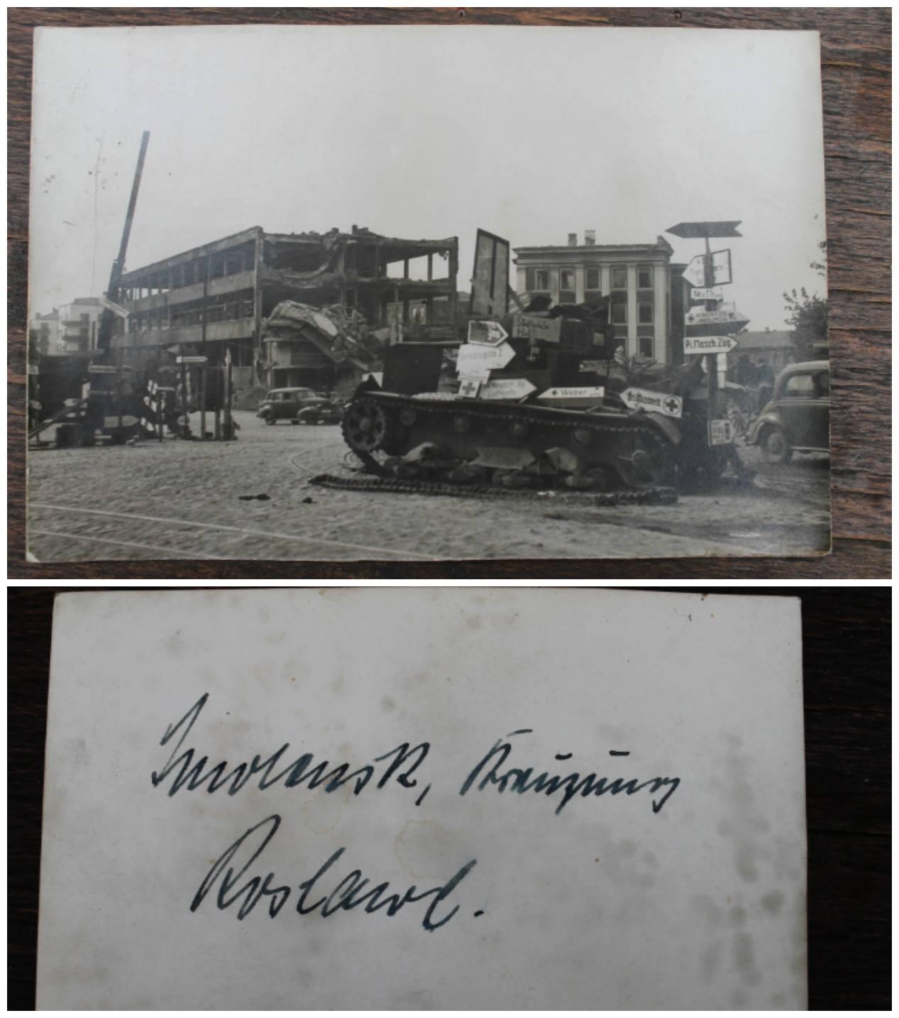 II PK pamusto vokisko tanko nuotrauka. Kaina 23