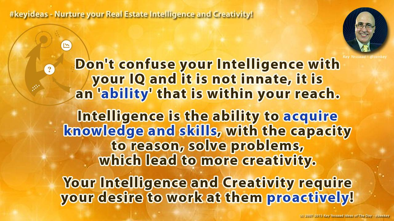 You are in Control of your Intelligence and Creativity
