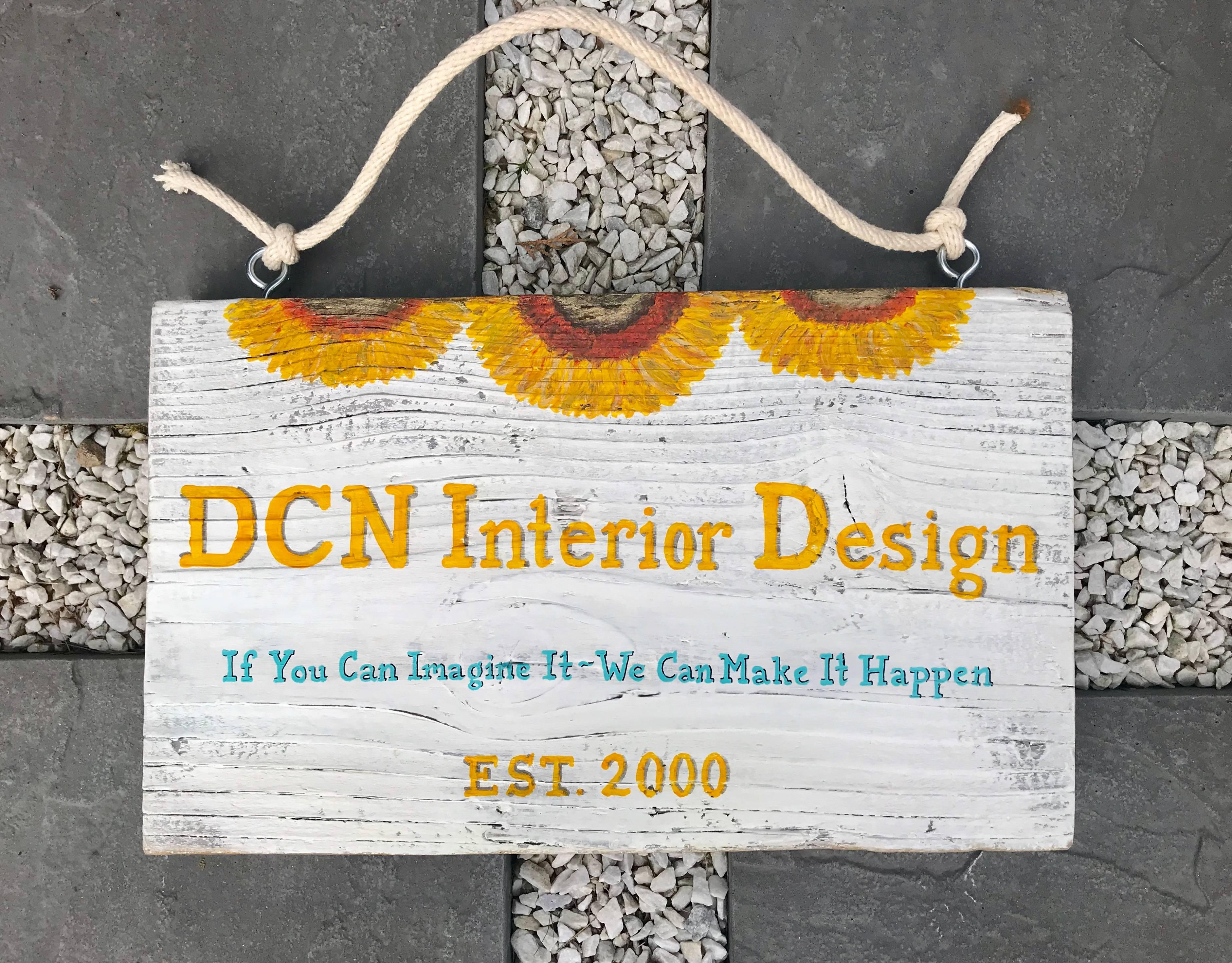 Interior Design firm sign