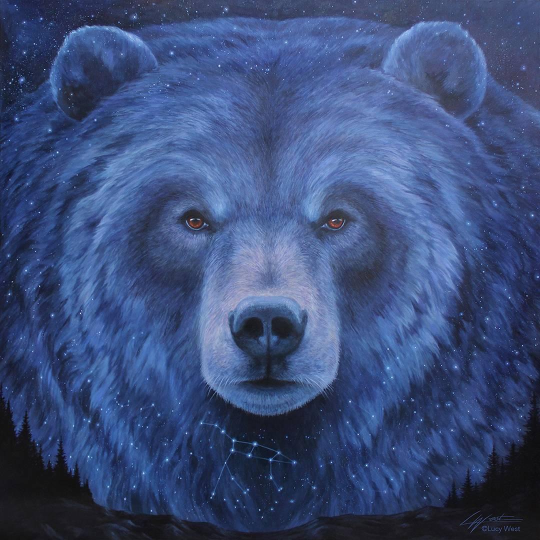 """Great Sky Bear: Ursa Major Constellation"""" / 2020"""