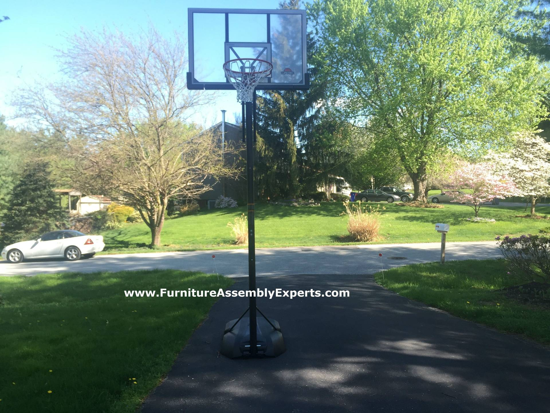 amazon portable basketball hoop assembly service in frederick md
