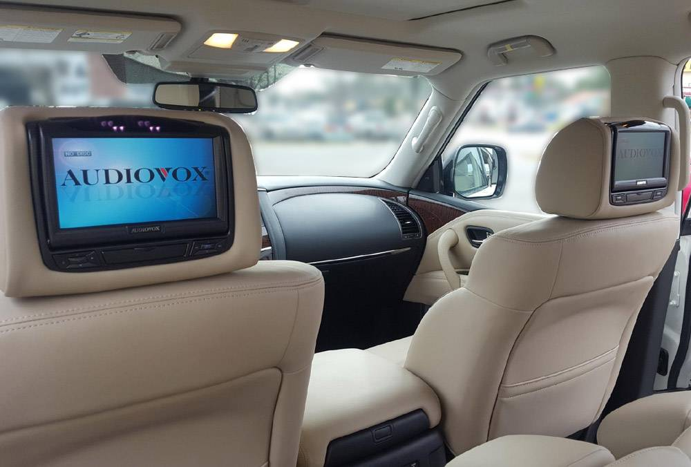 "2018 Nissan Armada 7"" Advent  Headrest DVD System"