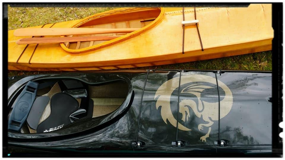 Two Favorite kayaks