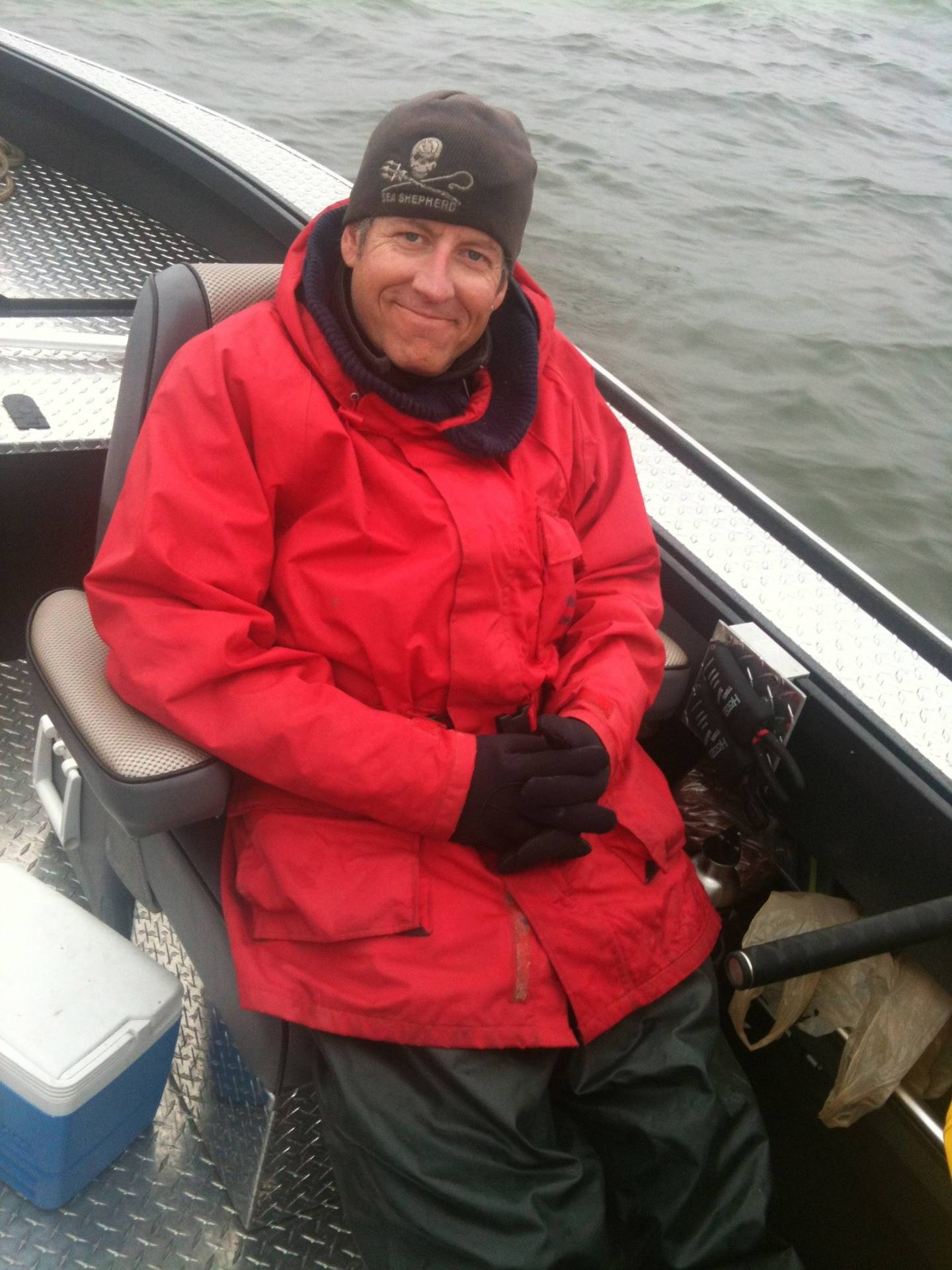 First Mate Ky Fox Reporting