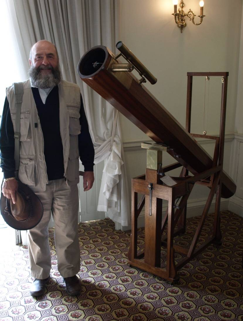 Herschell's telescope.