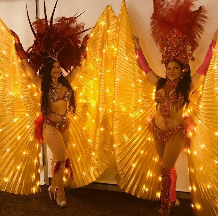 Samba Dancer Duo