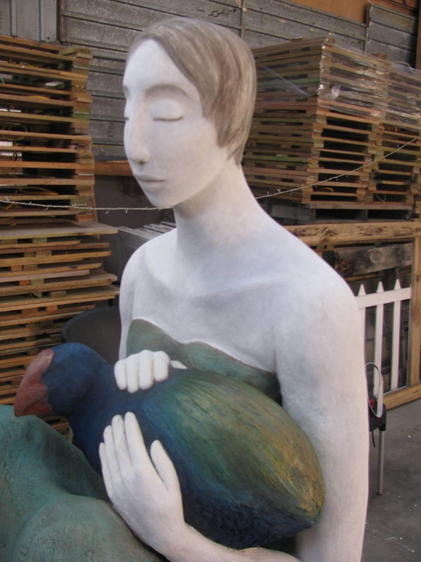 Matai sculpture Nelson NZ