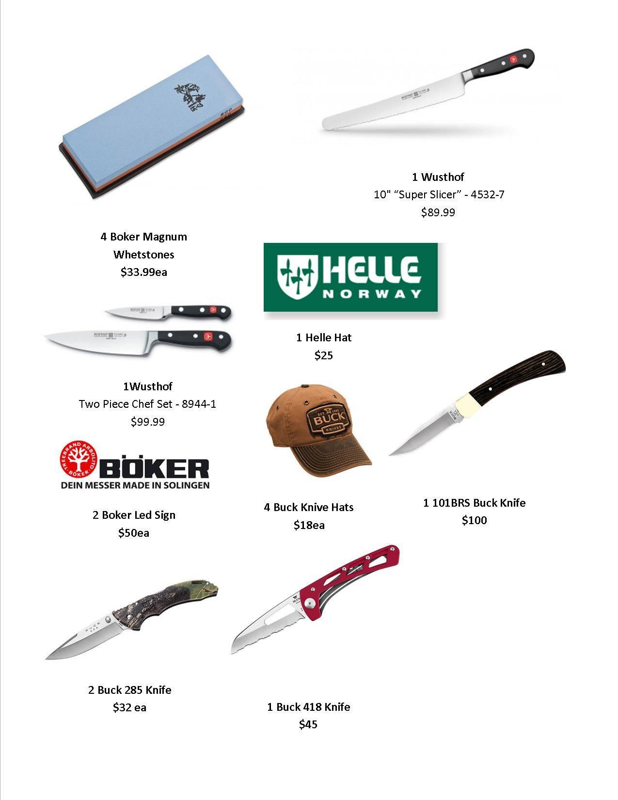 More Customer Appreciation Door Prizes