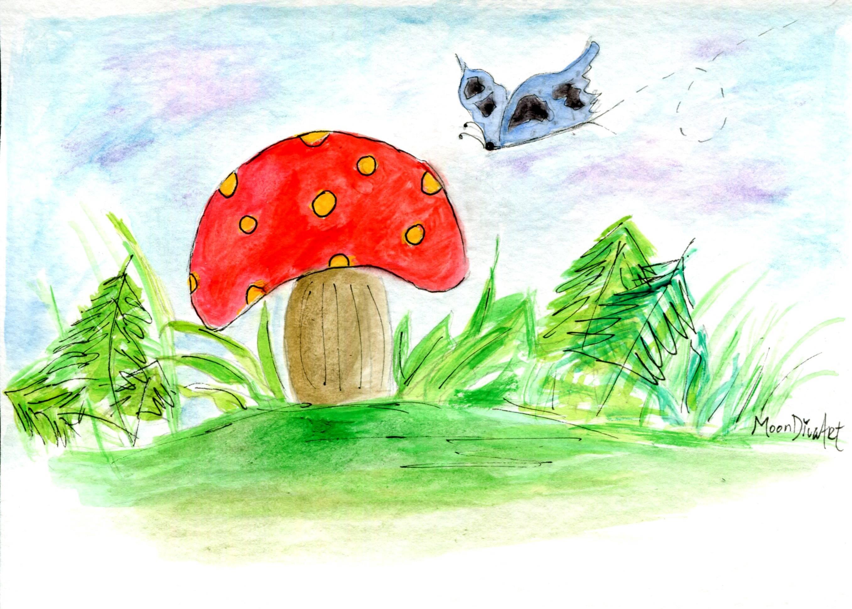 Woodland Mushroom 4