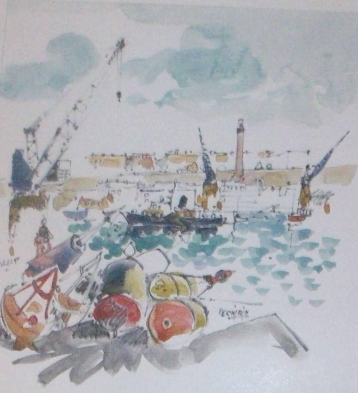 BREST Les Balises port de commerce