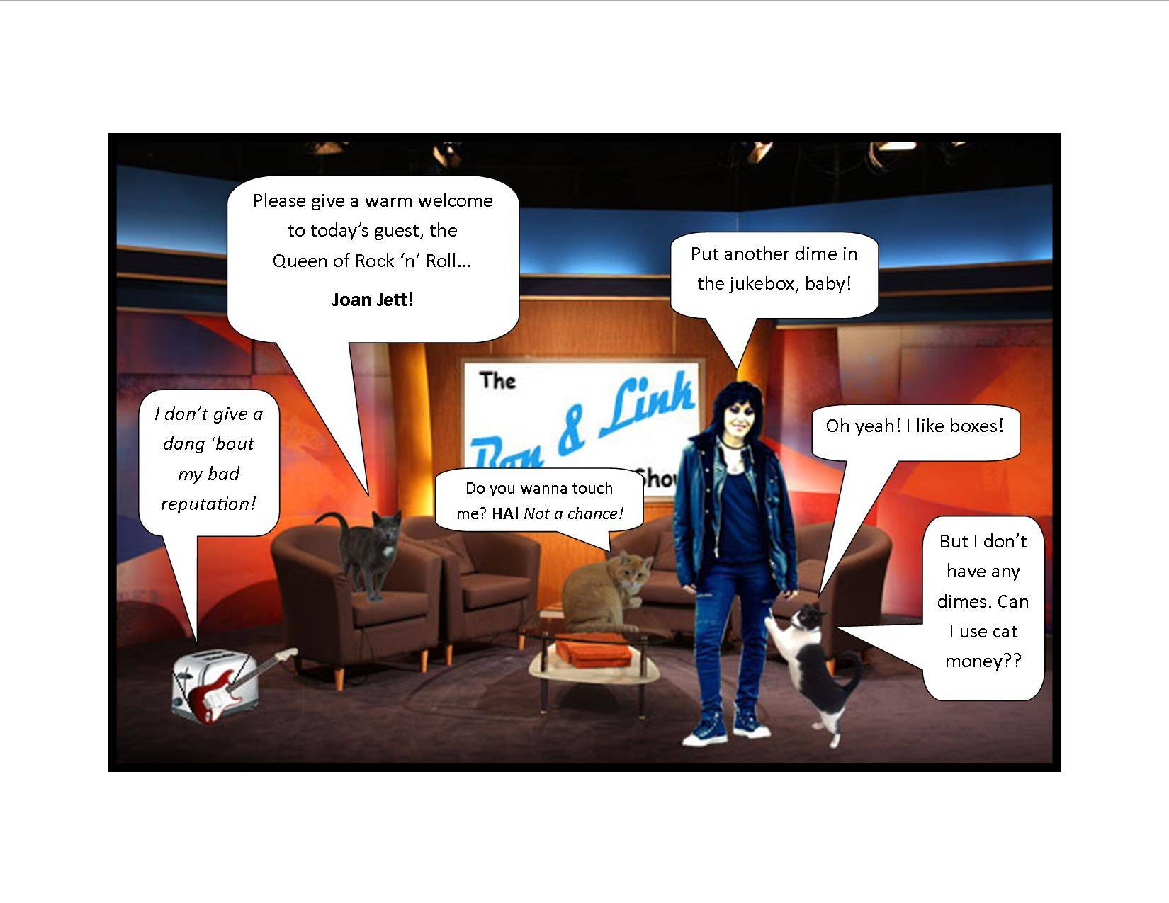 Joan Jett Rocks the B&L Show
