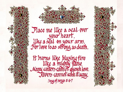 Place Me as a Seal - Song of Songs