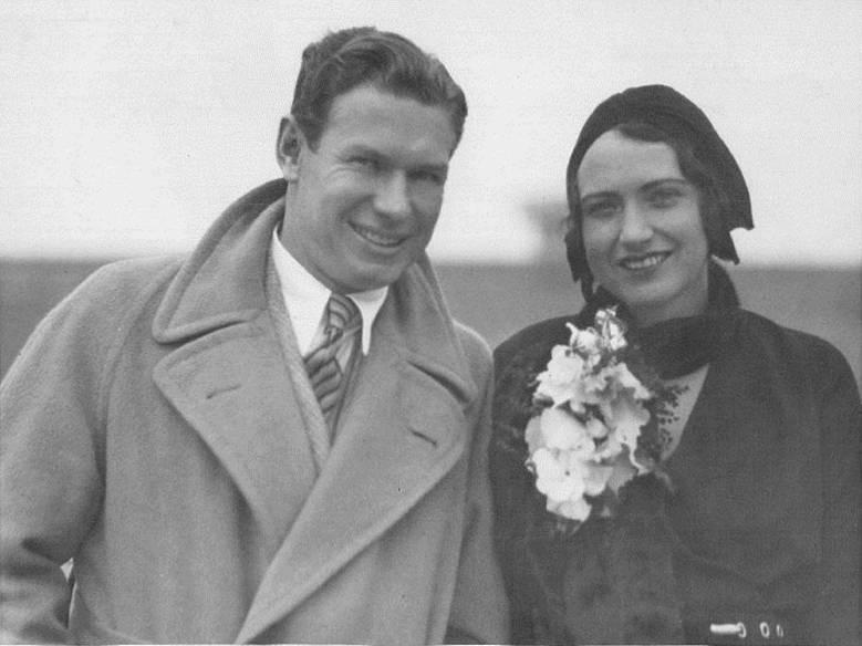 Mr. and Mrs. Charles Paddock (#1)