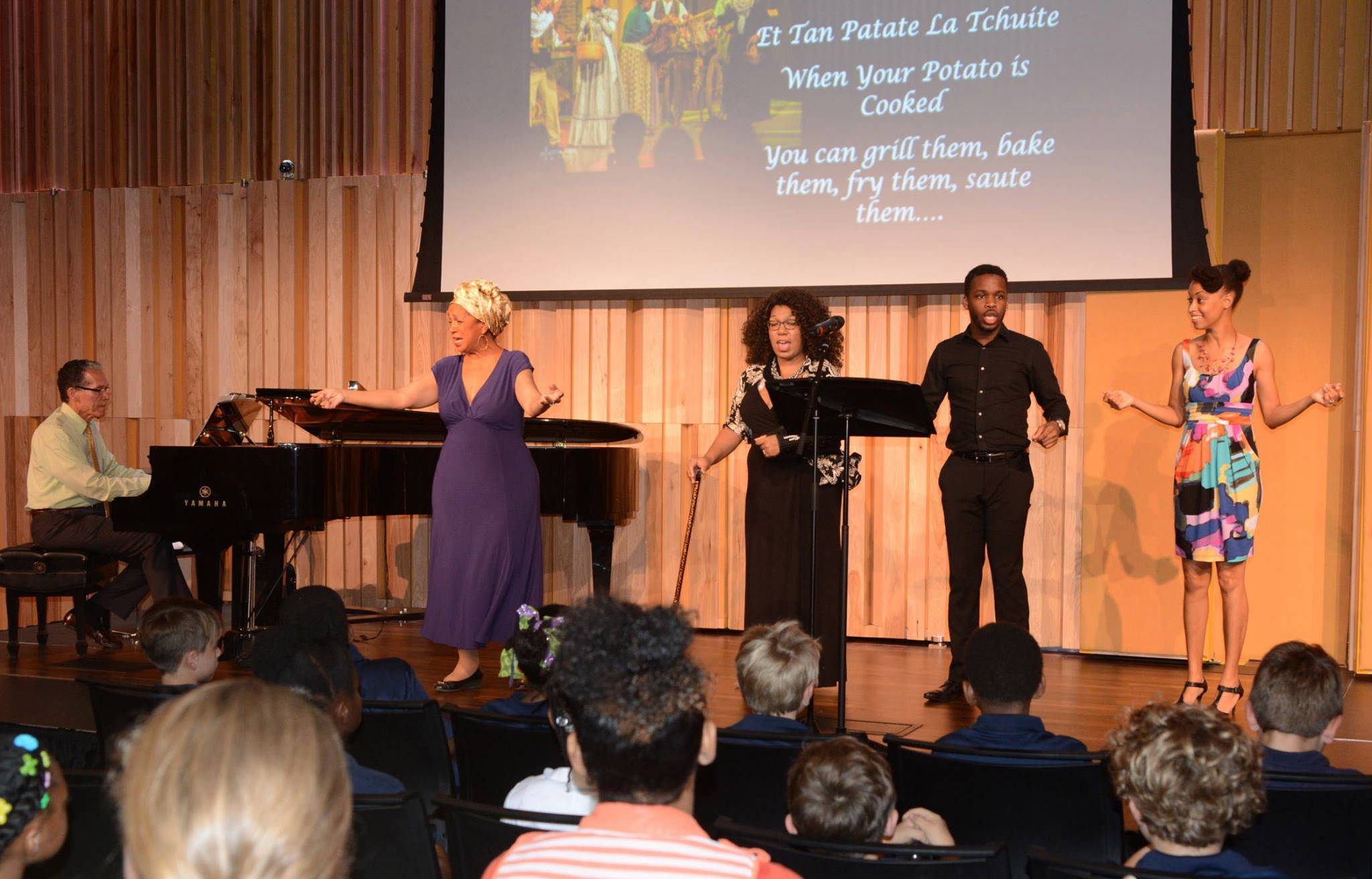 Education Outreach wirh New Orleans Opera