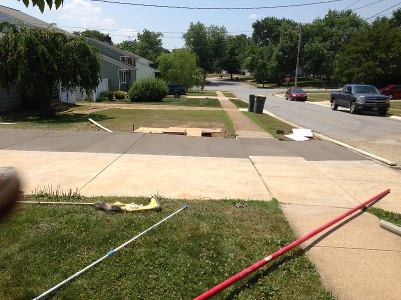 Enlarging a Driveway